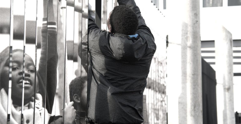 Cité Allende, projet participatif à la reconquête des cours, Villetaneuse (93)