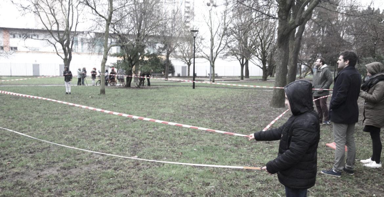 Lucien Brun, Étude concertée de programmation de la requalification d'un square, Aubervilliers (93)