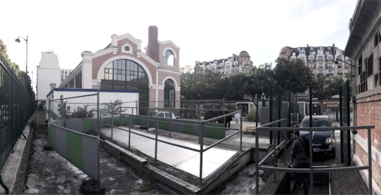 Réinventer Paris II, Les Bains d'Auteuil, Usine de pompage d'Eau de Seine dite «Usine d'Auteuil»