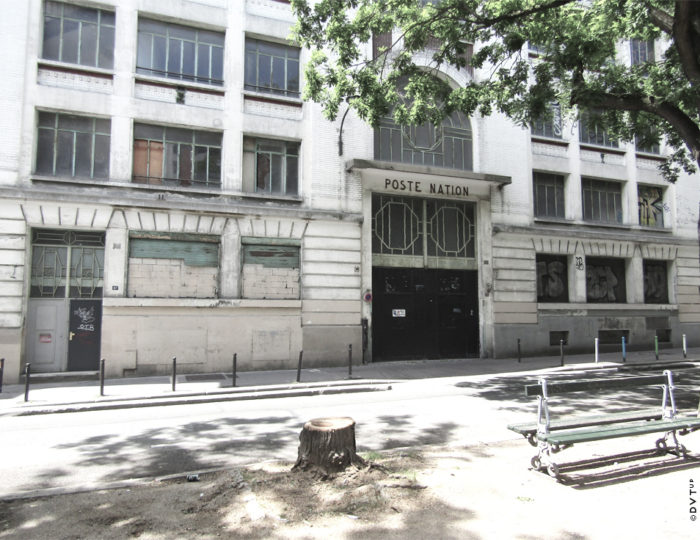 Réinventer Paris II, Ancien poste de transformation Enedis, dit «Nation 1»