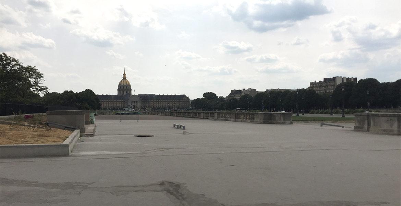 Réinventer Paris II, Le M. E. M., Esplanade des Invalides
