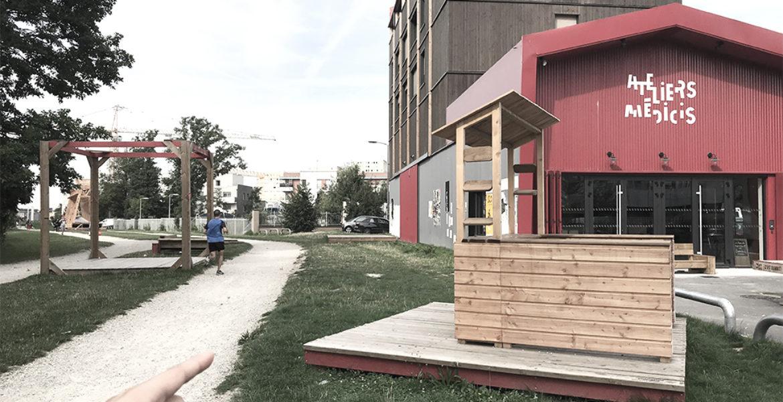 Bois de la Couronne , Implication des habitants dans la transformation des espaces extérieurs, Clichy-sous-Bois (93)