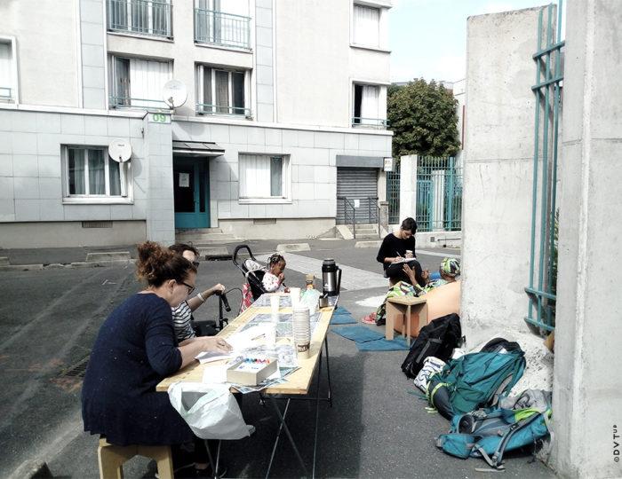 Groupe Ourcq Léon Giraud, Mission d'AMU et d'urbanisme tactique, Paris 19ème